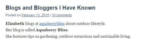 blogsandbloggers